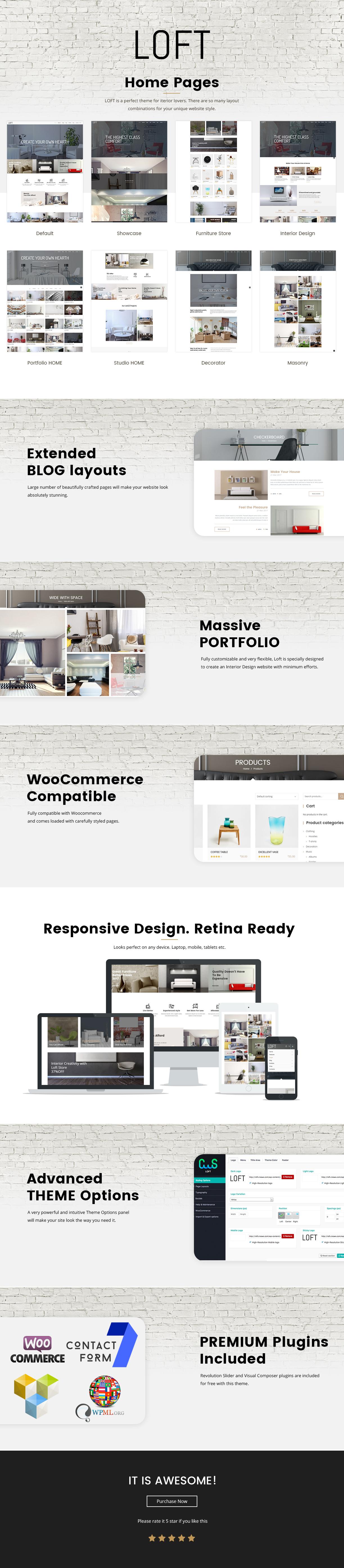 loft2 - Loft - Interior Design WordPress Theme