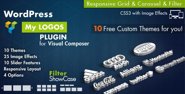 logos - Logos Showcase for Visual Composer WordPress
