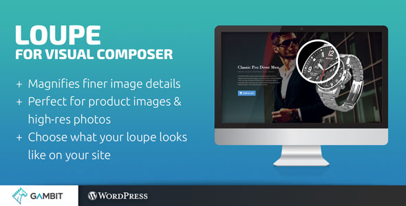 loupe - Loupe Image Magnifying Glass for WPBakery Page Builder (formerly Visual Composer)