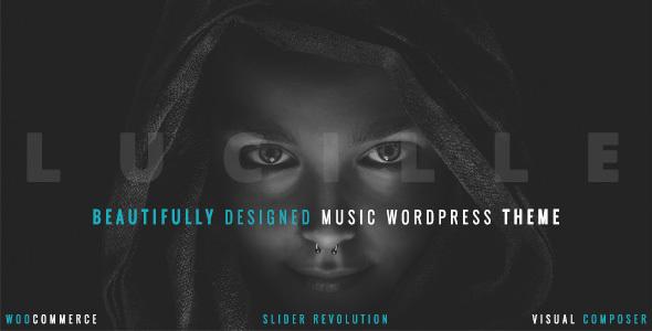 lucille - Lucille - Music WordPress Theme