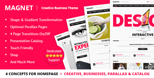 magnet - MAGNET - Creative Business WordPress Theme