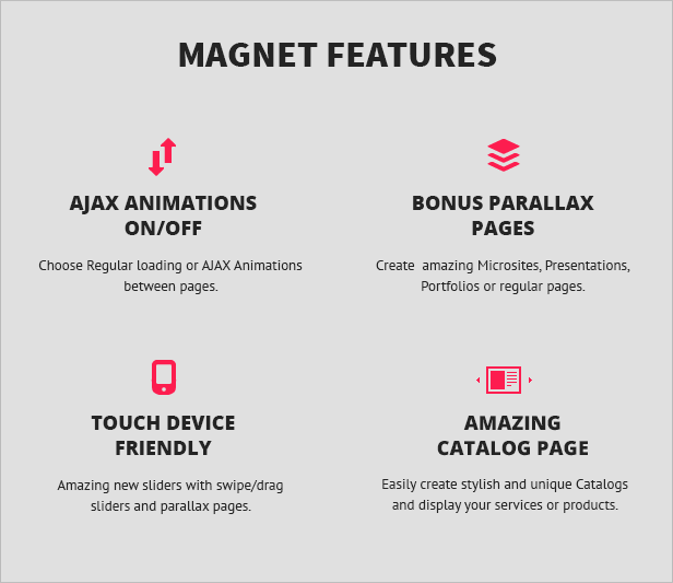 magnet2 - MAGNET - Creative Business WordPress Theme
