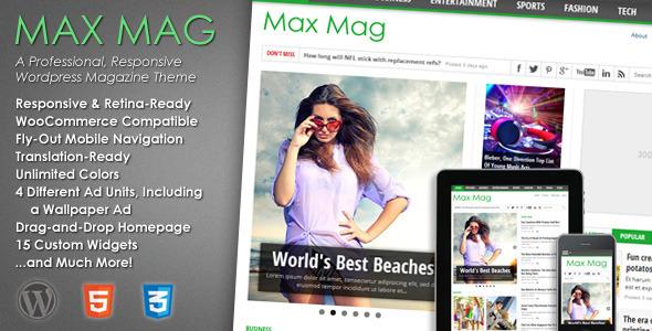 max - Max Mag - Responsive Wordpress Magazine Theme