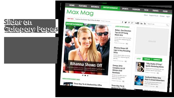 max2 - Max Mag - Responsive Wordpress Magazine Theme