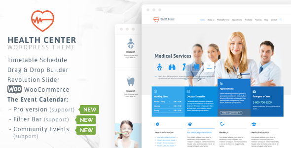 medical 1 - Medical & Dentist - Medical WordPress