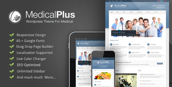 medical - Medical Plus - Responsive Medical and Health Theme