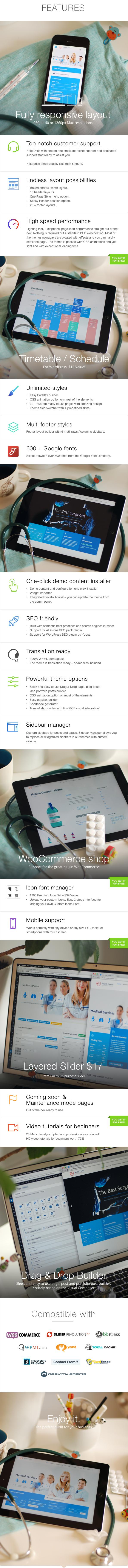 medical3 - Medical & Dentist - Medical WordPress