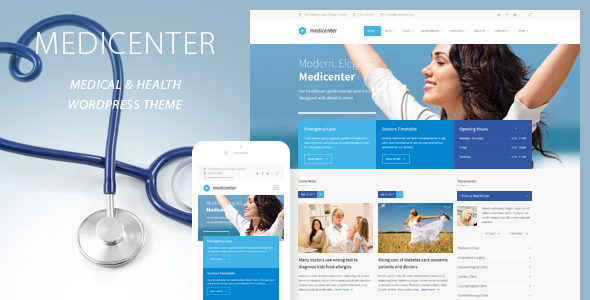 medicenter - MediCenter - Health Medical Clinic WordPress Theme