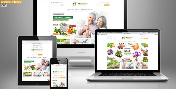 medicine - 123 Medicine - Pharmacy Shop & Hospital / Medical / Health Service Theme