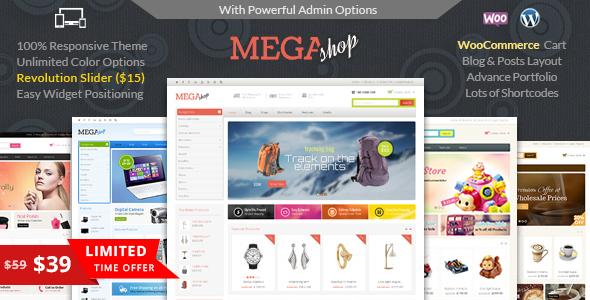 mega - Mega Shop - WooCommerce Responsive Theme