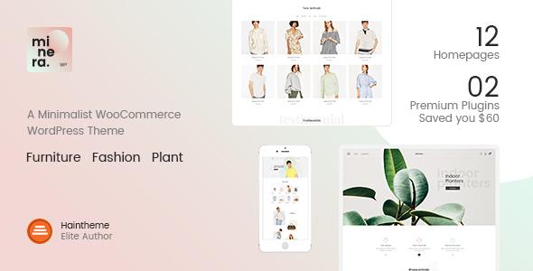 minera - Minera - Minimalist WooCommerce WordPress Theme
