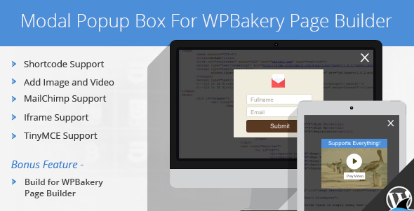 modal - Modal Popup Box For WPBakery Page Builder