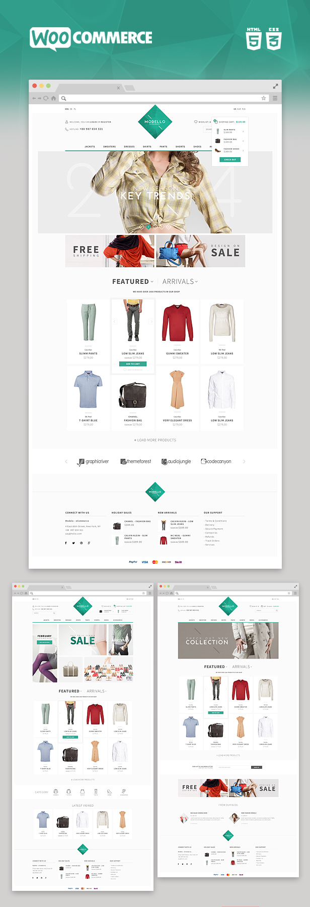 modello2 - Modello- Responsive eCommerce WordPress Theme