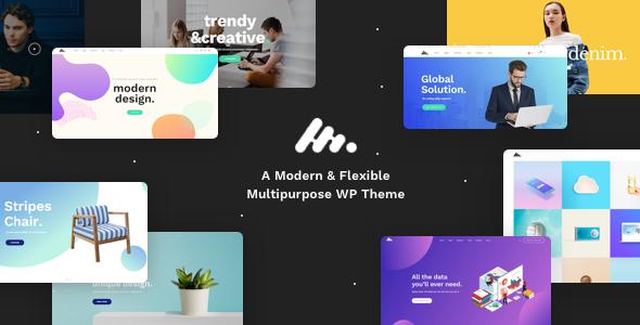 moody - Moody - A Modern & Flexible Multipurpose WordPress Theme
