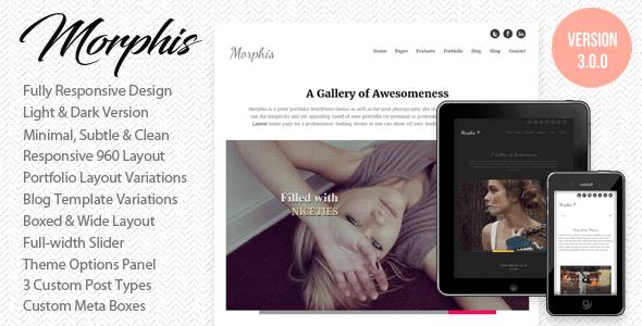 morphis - Morphis - Responsive WordPress Theme