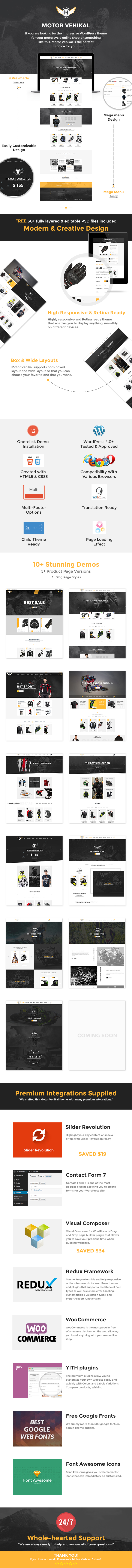 motor vehikal3 - Motor Vehikal - Motorcycle Online Store WordPress Theme