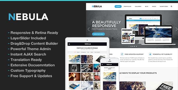 nebula - Nebula Responsive Multi-Purpose Theme