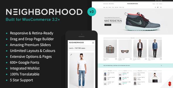 neighborhood - Neighborhood - Responsive Multi-Purpose Shop Theme