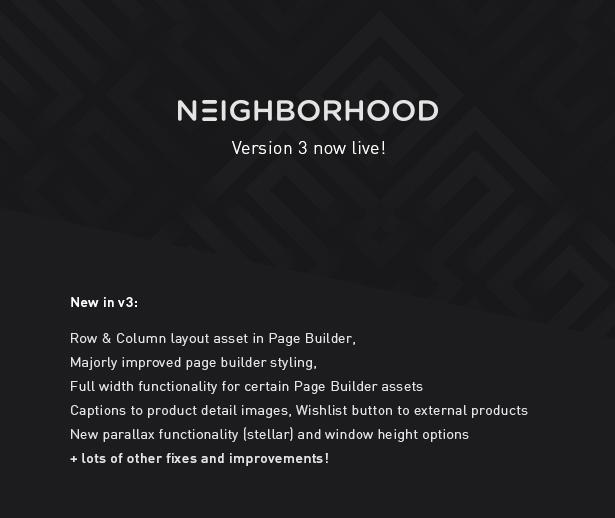 neighborhood2 - Neighborhood - Responsive Multi-Purpose Shop Theme