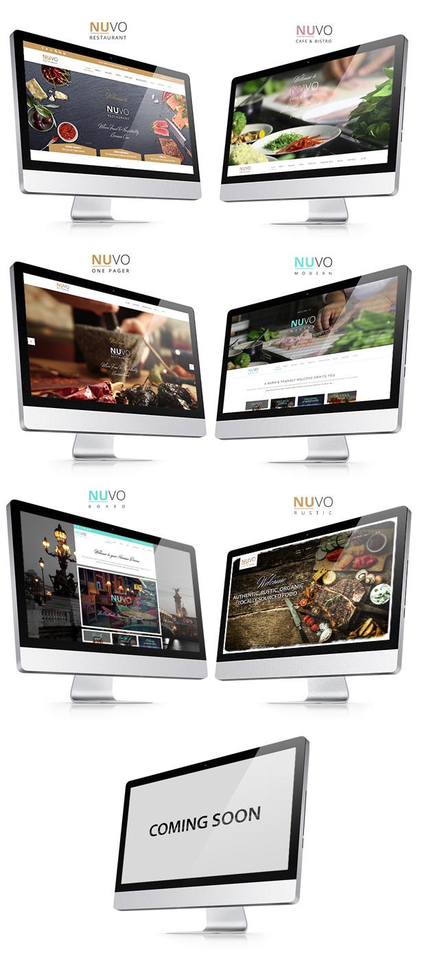 nuvo2 - NUVO - Cafe & Restaurant WordPress Theme - Multiple Restaurant & Bistro Demos