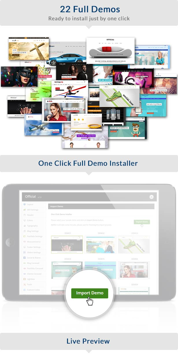 official2 - Official Website WordPress Theme + RTL