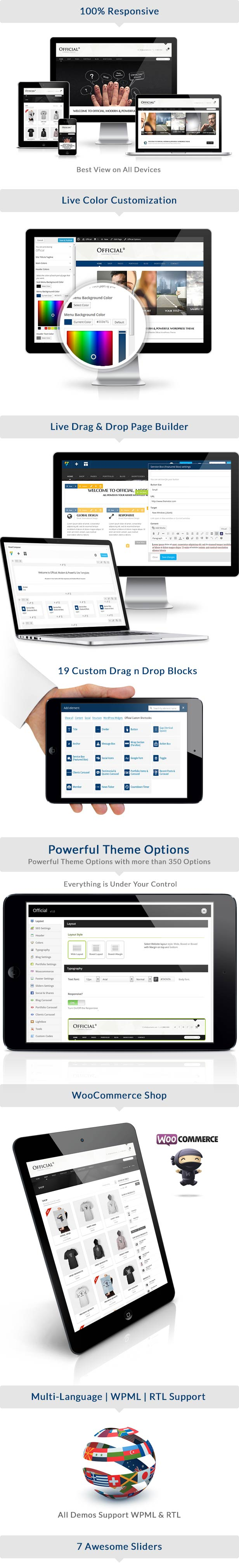 official3 - Official Website WordPress Theme + RTL