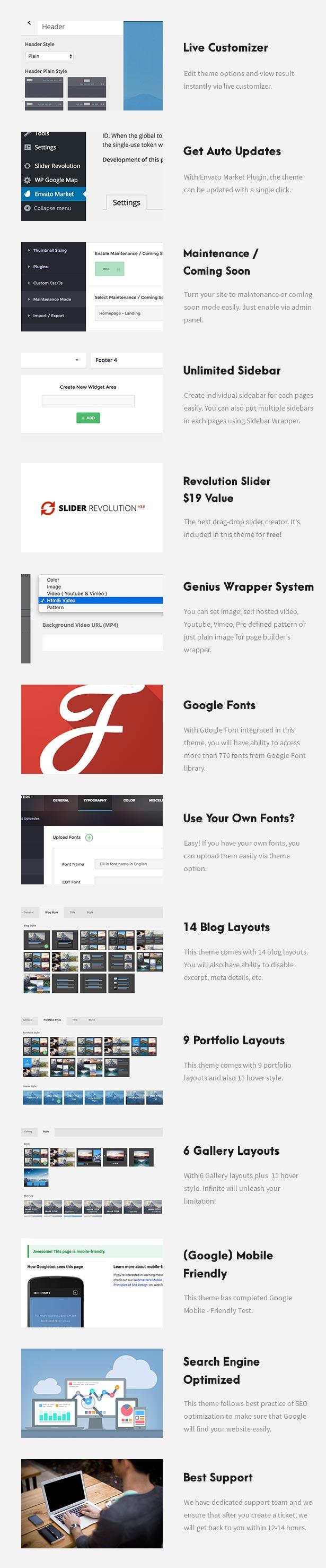 one9 - One Page Pro - Multi Purpose OnePage WordPress Theme