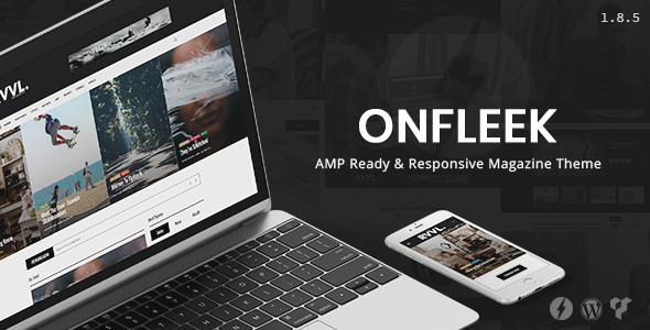 onfleek - Onfleek - AMP Ready and Responsive Magazine Theme