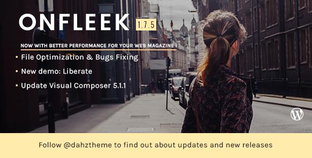 onfleek2 - Onfleek - AMP Ready and Responsive Magazine Theme