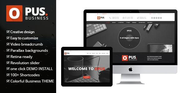 opus - Opus Business - Multipurpose Business WordPress Theme