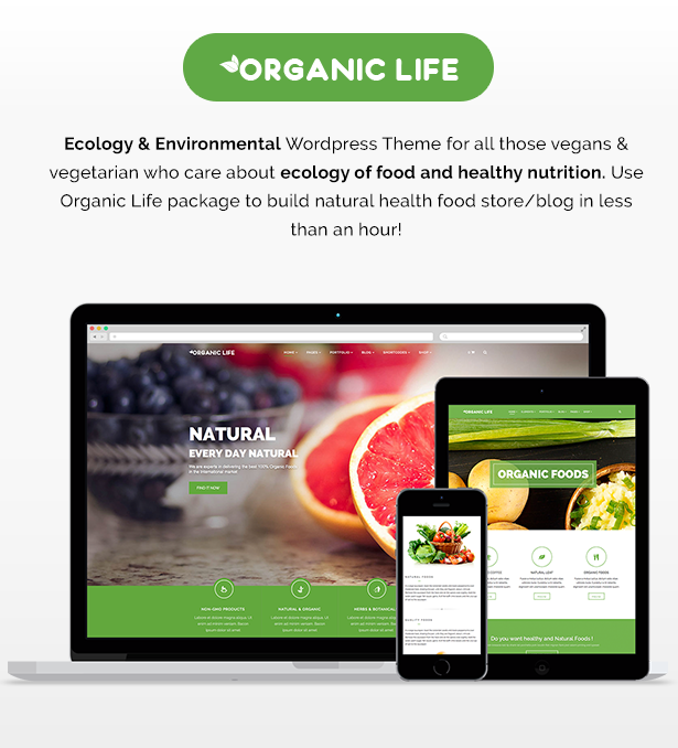 organic2 - Organic Life - Ecology & Environmental Theme