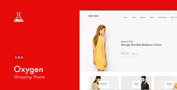 oxygen - Oxygen - WooCommerce WordPress Theme