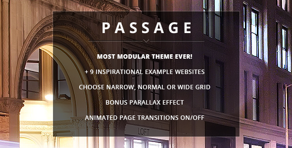 passage 1 - Passage - Responsive Retina Multi-Purpose Theme