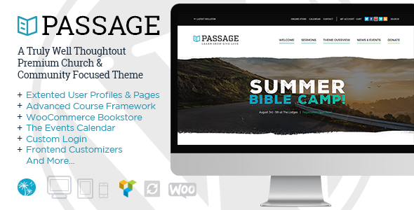 passage - Passage | Church - Sermons, Donations & Events Management