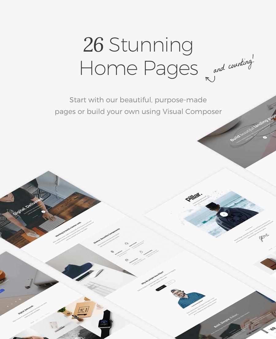pillar3 - Pillar - Multipurpose Multi-Concept Responsive WordPress Theme
