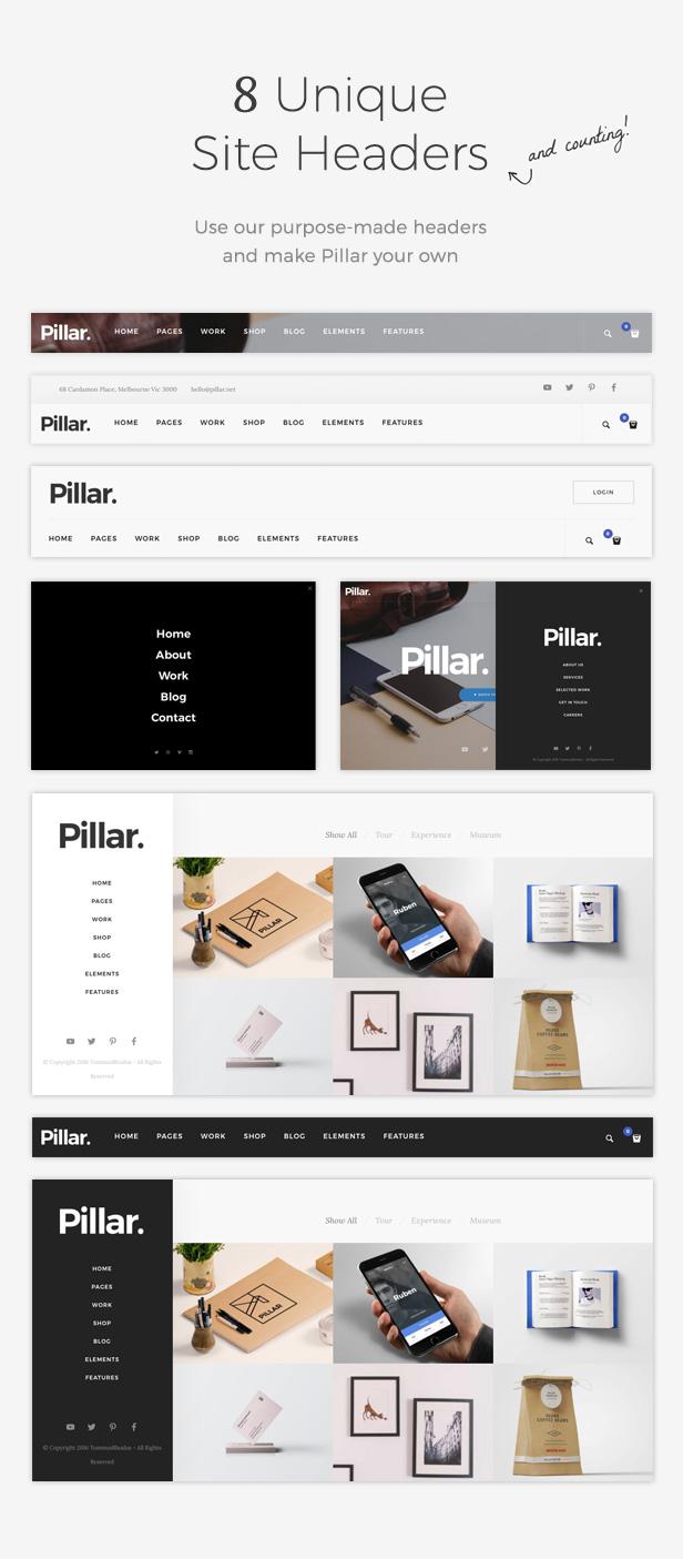 pillar6 - Pillar - Multipurpose Multi-Concept Responsive WordPress Theme
