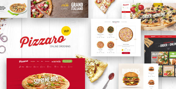 pizzaro - Pizzaro - Fast Food & Restaurant WooCommerce Theme