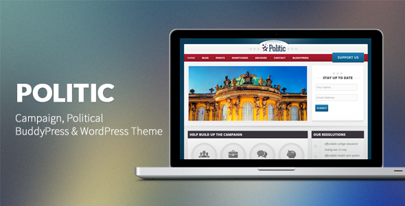 politic - Politic: Campaign, Political WP & BuddyPress Theme