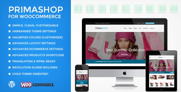 primashop - PrimaShop - Clean WooCommerce WordPress Theme