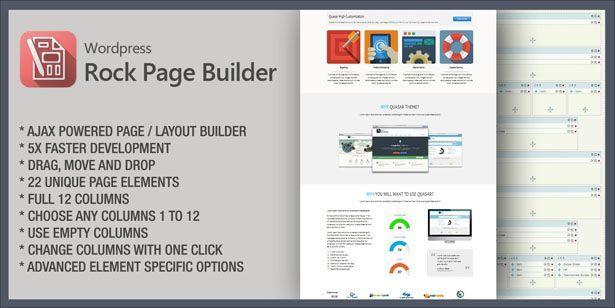 quasar4 - Quasar - WordPress Theme with Animation Builder