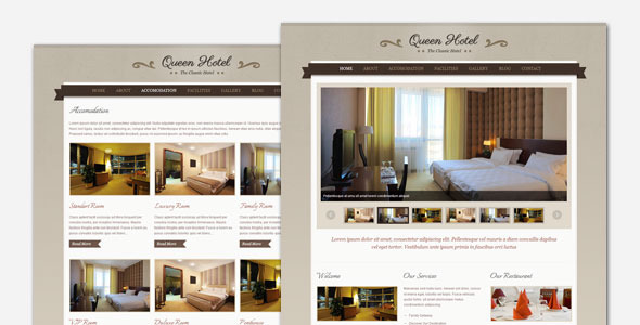queen - Queen Hotel - Classic and Elegant WordPress Theme