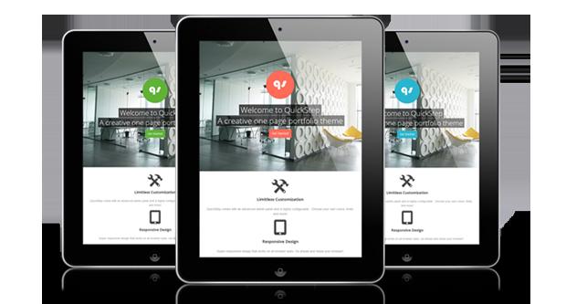 quickstep2 - QuickStep - Responsive One Page Portfolio Theme