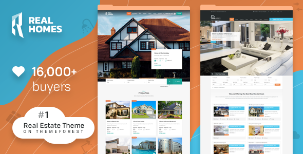 real - Real Homes - WordPress Real Estate Theme