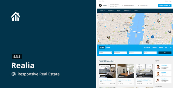 realia - Realia - Responsive Real Estate WordPress Theme