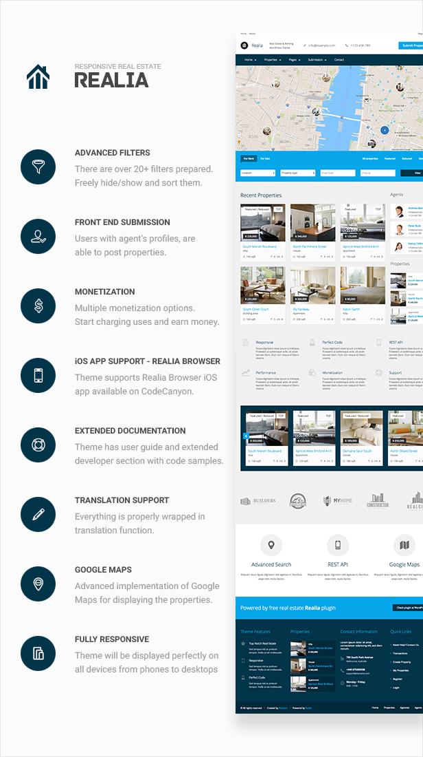 realia - Realia - Responsive Real Estate WordPress Theme
