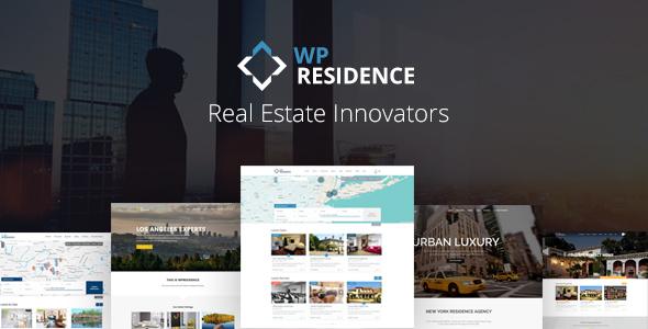 residence - Residence Real Estate WordPress Theme