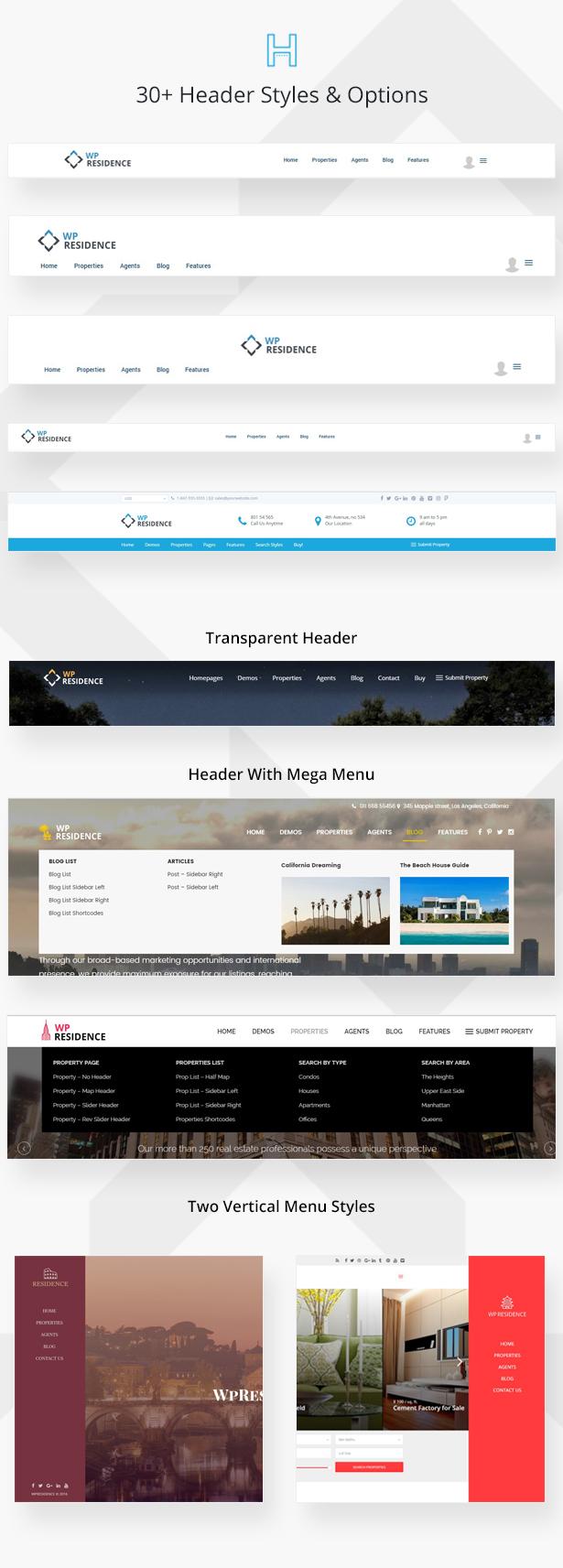residence7 - Residence Real Estate WordPress Theme