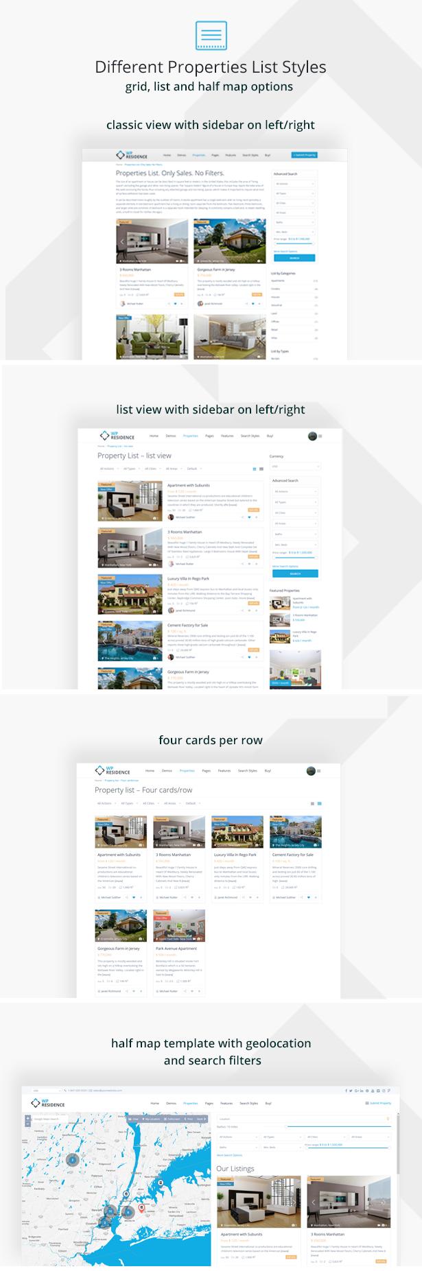 residence8 - Residence Real Estate WordPress Theme