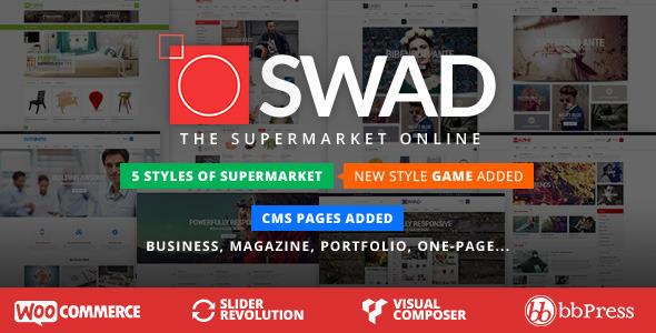 responsive 1 - Responsive Supermarket Online Theme - Oswad