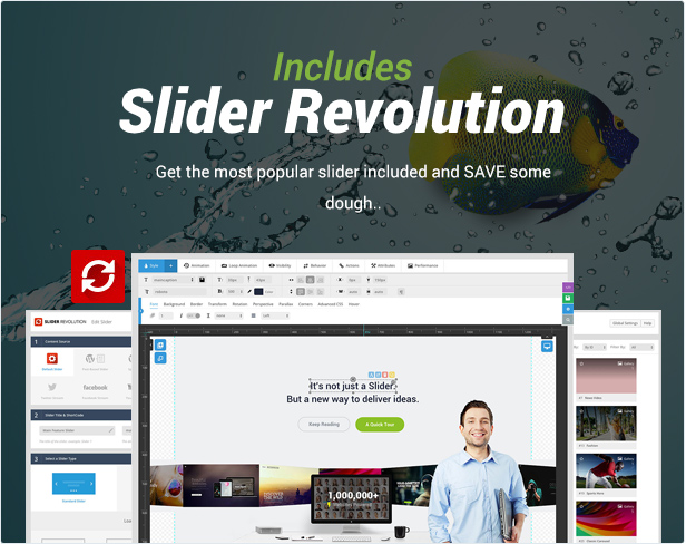 responsive7 - 907 - Responsive Multi-Purpose WordPress Theme